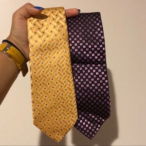 Two Brand New Ties